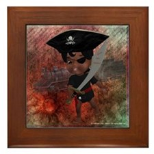 Cool Ahoy matey Framed Tile