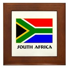South Africa Framed Tile