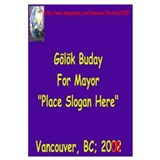 Buday for Mayor
