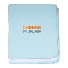 Cool Cheese baby blanket
