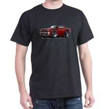 1969 Roadrunner Maroon Car T-Shirt