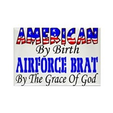 AF Brat By The Grace Of God Rectangle Magnet