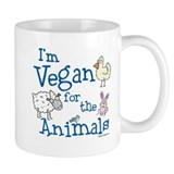 Vegan for Animals Coffee Mug