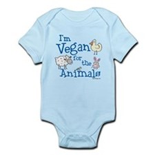 Vegan for Animals Infant Bodysuit