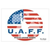 Large U.A.F.F. Lifetime Membership