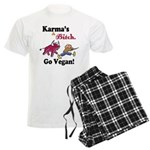 Vegan Karma Men's Light Pajamas
