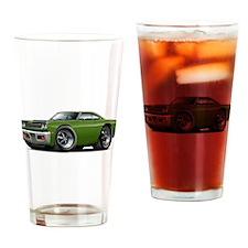 1969 Roadrunner Ivy-Black Drinking Glass