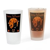Halloweentoo Drinking Glass