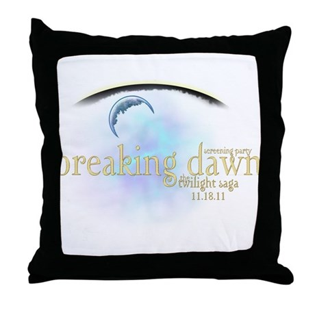 Breaking Dawn Clouds Throw Pillow