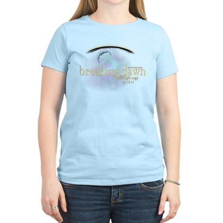 Breaking Dawn Clouds Women's Light T-Shirt