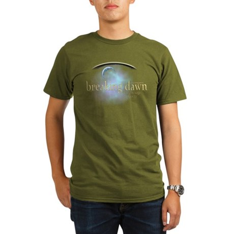 Breaking Dawn Clouds Organic Men's T-Shirt (dark)