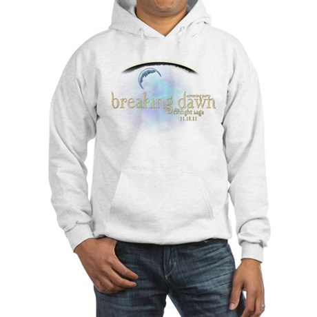 Breaking Dawn Clouds Hooded Sweatshirt