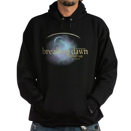 Breaking Dawn Clouds Hoodie (dark)