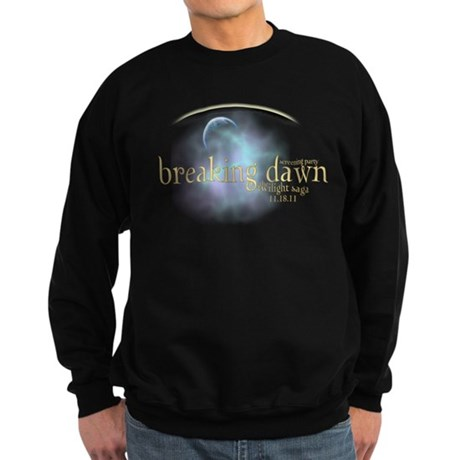 Breaking Dawn Clouds Sweatshirt (dark)