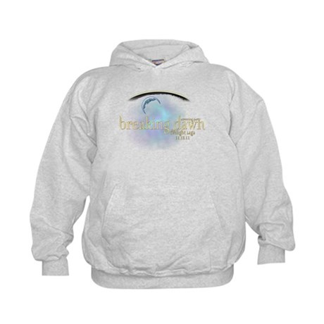 Breaking Dawn Clouds Kids Hoodie