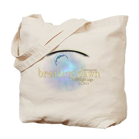 Breaking Dawn Clouds Tote Bag