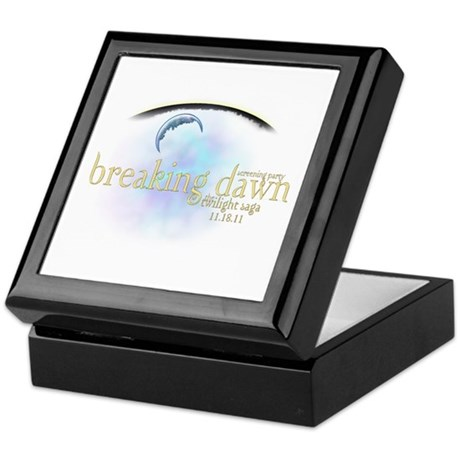 Breaking Dawn Clouds Keepsake Box