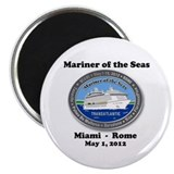 "Unique Mariner ta may 1 2012 2.25"" Magnet (100 pack)"