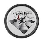 Breaking Dawn Large Wall Clock
