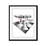 Breaking Dawn Framed Panel Print