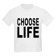 Choose Life Kids T-Shirt