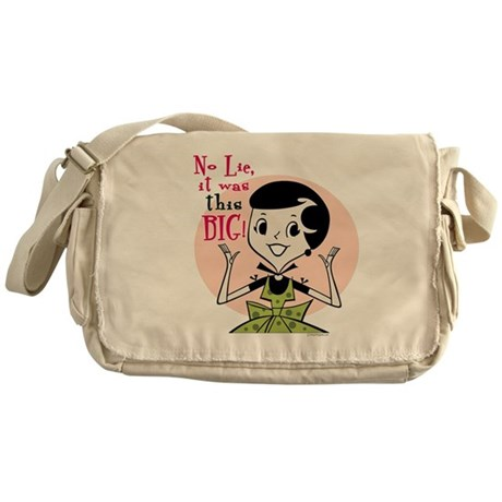 Girl Talk Messenger Bag