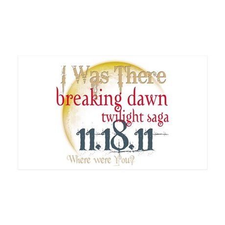 Breaking Dawn I Was There 38.5 x 24.5 Wall Peel