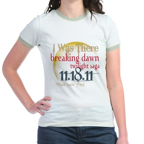 Breaking Dawn I Was There Jr. Ringer T-Shirt