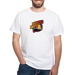 Volunteer Firefighter White T-Shirt
