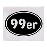 99ers Occupy Wall St Throw Blanket