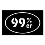 99ers Occupy Wall St Sticker (Rectangle 50 pk)