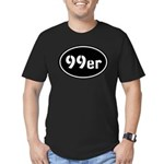 99ers Occupy Wall St Men's Fitted T-Shirt (dark)