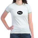 99ers Occupy Wall St Jr. Ringer T-Shirt