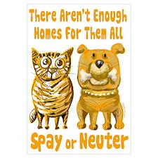 Aren't Enough Homes - Spay or Neuter