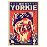 Obey the YORKIE! UK Pilot