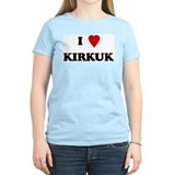 I Love Kirkuk Women's Pink T-Shirt