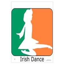 Irish Dance Tricolor Girl
