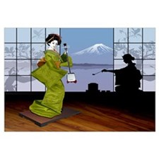 Unique Geisha Wall Art