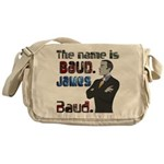 The Name's James Baud Messenger Bag