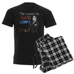 The Name's James Baud Men's Dark Pajamas