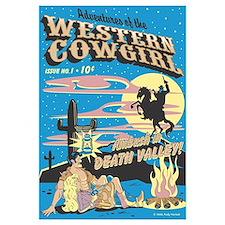 Pop Art Cowboy Cowgirl & Wild Horse