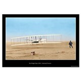 The Wright Flyer - Colorized ( 16x20)