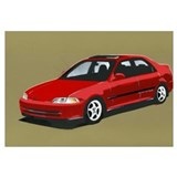 Honda Civic Four Door JDM Ferio Mugen
