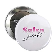 Salsa girl Button