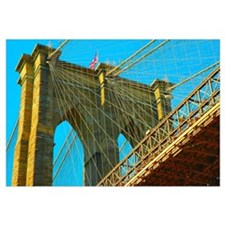 Brooklyn Bridge Print by Urban59 Studio