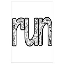 Cute Running Wall Art
