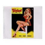Titter Vintage Pin Up Girl Magazine Stadium Blank
