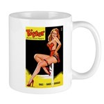 Titter Vintage Pin Up Girl Magazine Mug