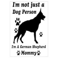 German shepherd mommy