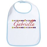 Gabriella with Flowers Bib